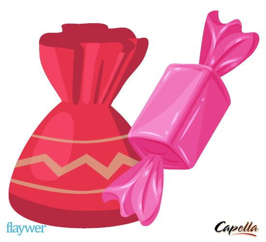 Strawberry Taffy - Capella