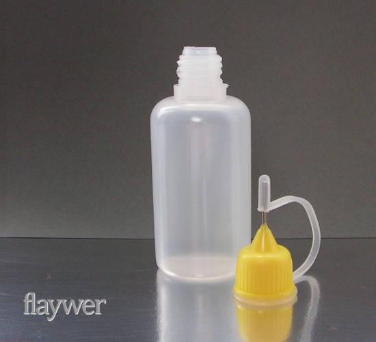 Liquidflasche mit Nadelaufsatz - 30ml
